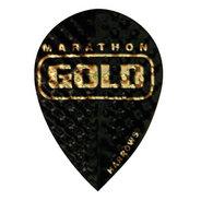 Harrows Marathon Gold Svarta med guld text Päron