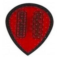 Harrows Dimplex Röda med svart kant päron
