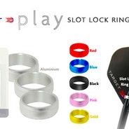 Target Play Slot Lock Rings Black