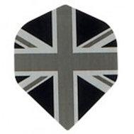 Union Jack Svarta & Grå