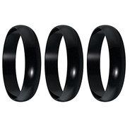 Harrows Lock rings Black