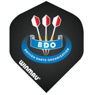 Winmau Mega Standard BDO Svarta