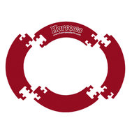 Harrows Jigsaw Väggskydd Röd