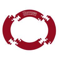 Harrows Jigsaw Surround Red