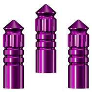 Mission F-Protect Flight Protectors Purple