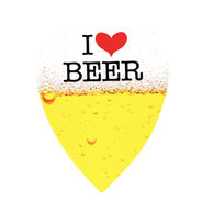 Harrows Quadro I Love Beer Päron