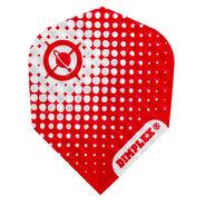 Harrows Dimplex Globe Röd & Vit
