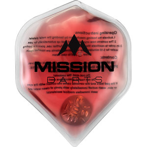 Mission Flux  Luxury Hand Warmer Red