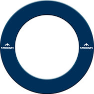 Mission Dartboard Surround  with Logo  Blue