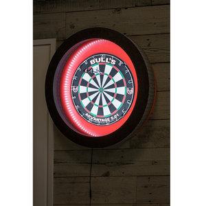 bulls termote 2 0 led dartboard lighting system blue dartstore sweden