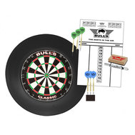Bulls Surround Dartboard  Starter Set Svart