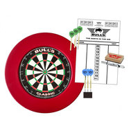 Bulls Surround Dartboard  Starter Set Röd