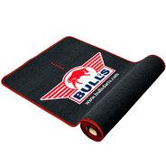 Bulls matta med röd kant Soft 240x65