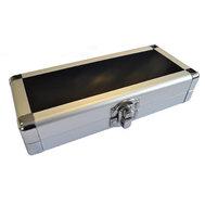 Designa Aluminium Dartfodral Silver