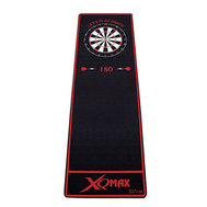 XQ  Max Dartmatta Soft Let´s Play Darts Svart/Röd
