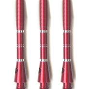 Aluminium Räfflade Röda X 40mm