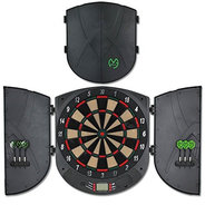XQMax Michael van Gerwen Electronic Dartboard and Cabinet Set CBX-170 Softtip