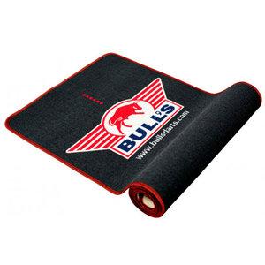 Bulls matta med röd kant Soft 300x67