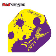 Red Dragon Peter Wright Snakebite Purple and  Yellow