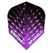 Harrows Dimplex Sparkle Fade Svart & Lila