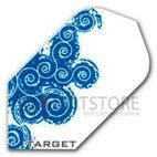 Target Pro Play Blå/Vit virvlande våg Slim