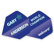 Unicorn Gary Anderson Blå Stjärna