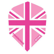 Harrows Diva Union Jack