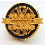 Darttavla Winner Pins