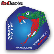 Red Dragon Peter Wright Snakebite Blue/Green