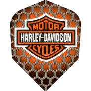Harley Davidson Vaxkaka med sköld
