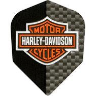 Harley Davidson Svartgrå med sköld