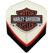 Harley Davidson Transparant svartröd med sköld