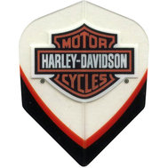 Harley Davidson Clear blackred with shield