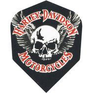 Harley Davidson Svart med vit dödskalle