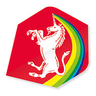 Unicorn Rainbow Unicorn Red