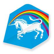 Unicorn Regnbåge Enhörning Blå