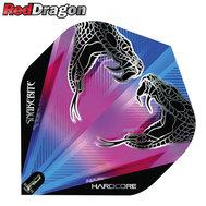 Red Dragon Peter Wright Snakebite  Snake Black