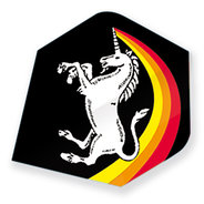 Unicorn Rainbow Unicorn Black