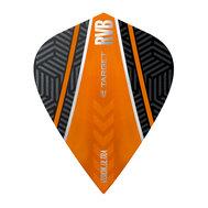 Target RVB Vision Ultra Black/Orange Curve Kite