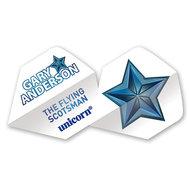 Unicorn Gary Anderson Vit Stjärna