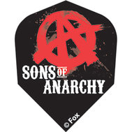 Sons of Anarchy Svart med rött A inne i O