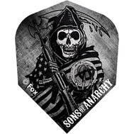 Sons of Anarchy Reaper wraped in flag