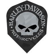Harley Davidson Svart med silver dödskalle