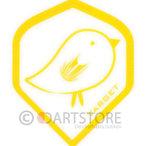 Target Pro 100 Gul fågel Design